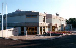 Die Schnaudertalhalle – seit 2000 Spielstätte des HV Meuselwitz